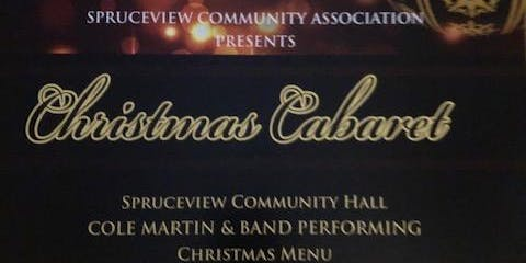 Spruceview Community Hall Christmas Cabaret