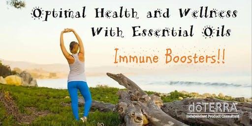 Coffe & Essential oils Boost Your inmune immune system