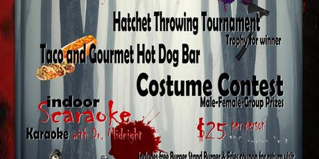 BIG Halloween Party and Scaraoke Bash tickets