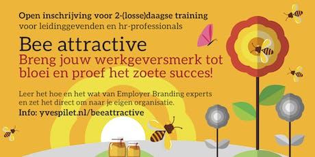 Training: Bee attractive - Leer hoe je jouw werkgeversmerk laat bloeien tickets
