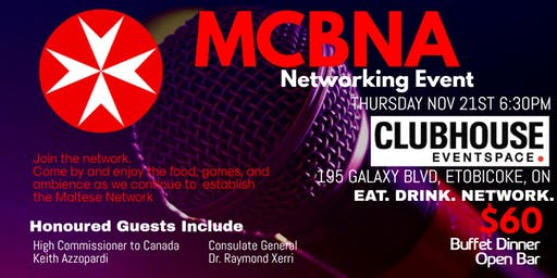 MCBNA -  Network Night with the High Commissioner and Consulate General