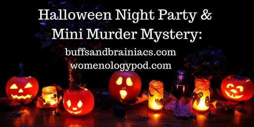 Halloween Night Party & Mini Murder Mystery: Murder at The Meet Up - Costum
