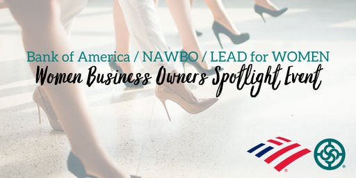 Bank of America   NAWBO San Diego   LEAD for WOMEN - Women Business Owners Spotlight