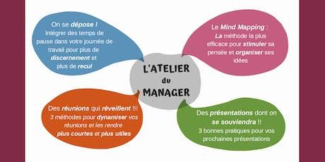 L'Atelier du Manager   Des outils innovants pour gagner en efficacité ! tickets