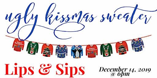 Ugly Kansas Kissmas Sweater