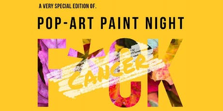 Special Event by Black Lab Brewing: F*CK CANCER - Pop Art Paint Night tickets
