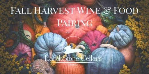 Fall Harvest Wine & Food Pairing