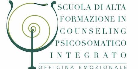Open Day - Scuola di alta formazione in Psicosomatica integrata biglietti