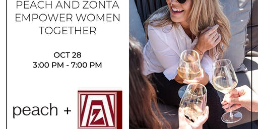 Peach and Zonta Empower Women Together Happy Hour and PopUp Shop
