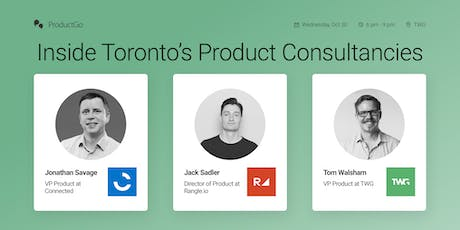 Inside Toronto's Product Consultancies tickets
