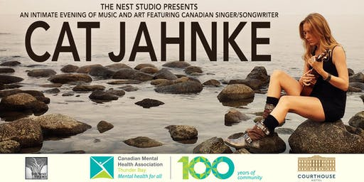 An Evening of Music and Art with Cat Jahnke in Support of Mental Health