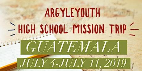 Argyle UMC High School Mission Trip 2020 tickets