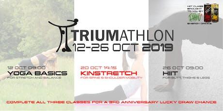 Kinstretch at Trium Fitness tickets