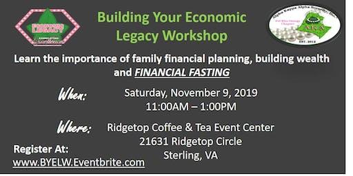 Building Your Economic Legacy Workshop