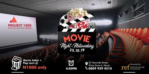A Night At The Movies + Networking
