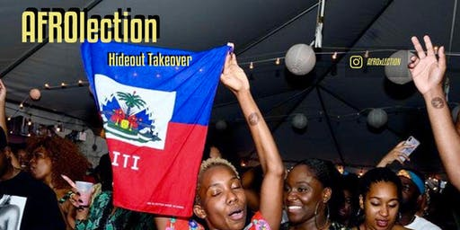 Afrolection Party 003: Hideout Takeover