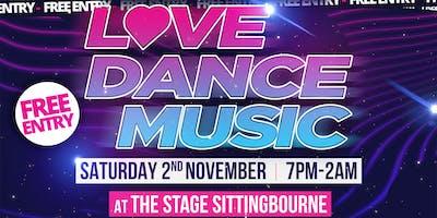 Love Dance Music - Supernature Launch