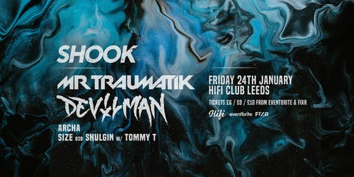 Shook - Mr Traumatik, Devilman