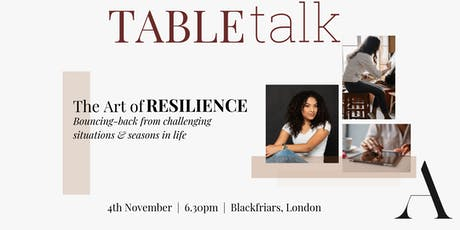 The Art of Resilience tickets