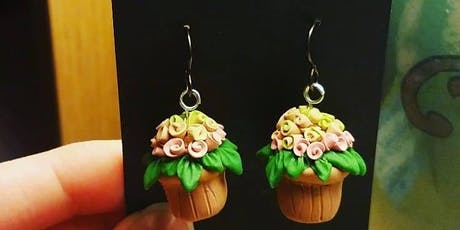 Make Something Saturday: Clay Charm Earrings tickets