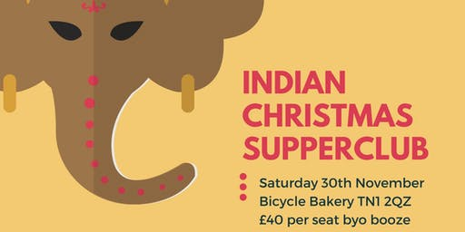 Bhaji Bhaji Christmas Supper Club