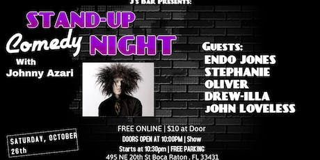 """Comedy night with """"Johnny Azari"""" at the Artful Dodger tickets"""