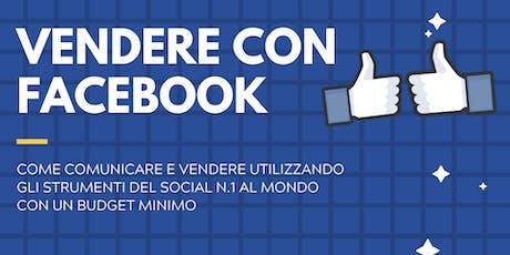 Vendere con  Facebook biglietti