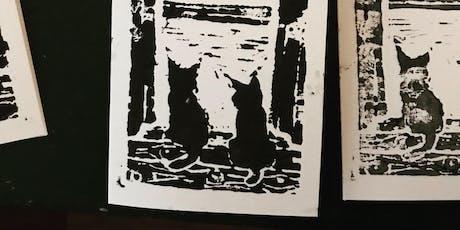 Linoprint Christmas Cards @MADEptford tickets