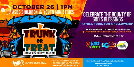 ASBC 2019 Community Harvest Festival/Trunk-or-Treat