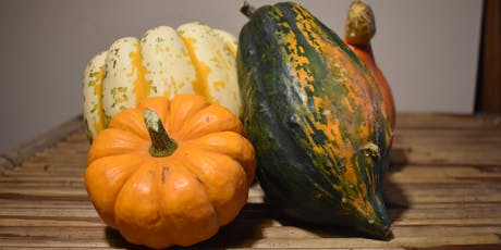 Pumpkin (and squash) supper club tickets