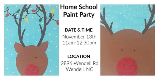 Home school Paint Party