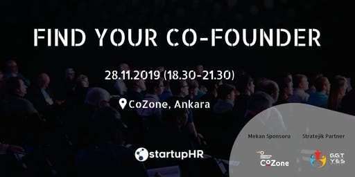 Find Your Co-Founder Ankara #1 – StartupHR