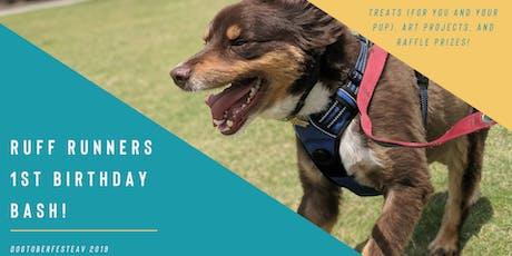 Ruff Runners 1st Birthday Bash at DogtoberfestEAV 2019 tickets