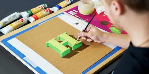 Hand Lettering Basics & 3D Lettering with James Lewis | Manchester