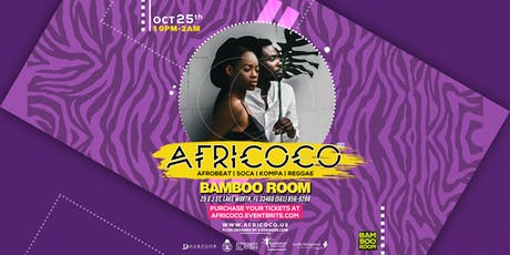 Afro Carnival @Bamboo Room  tickets