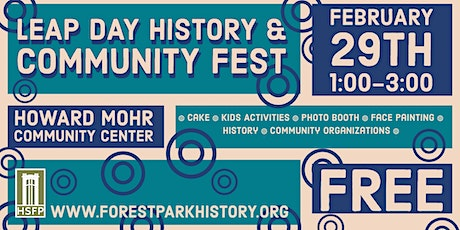 Leap Day History & Community Festival tickets