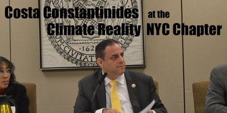 Cost Constandinides at the Climate Reality NYC Chapter Meeting tickets