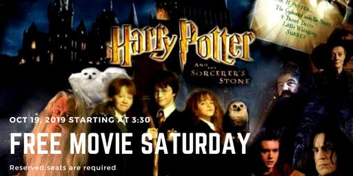 Free Movie Saturday - Harry Potter and the Sorcerer's Stone