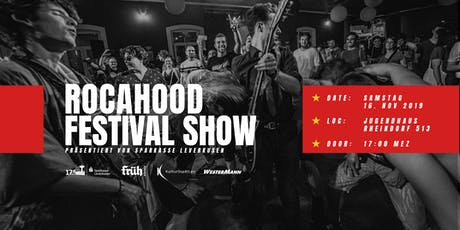 Rocahood Festival Show 2019 Tickets