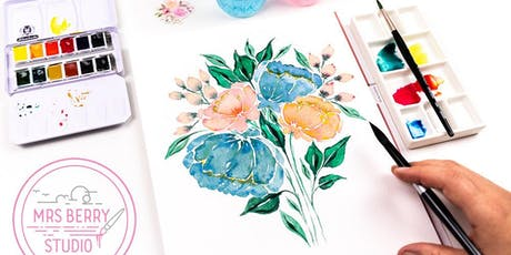 Watercolor Florals Workshop Tickets