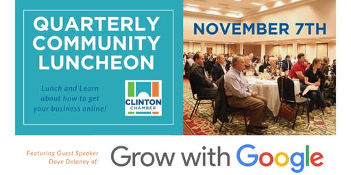 Clinton Chamber Quarterly Community Luncheon