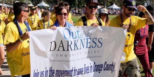Out of the Darkness Walk  for American Foundation for Suicide Prevention