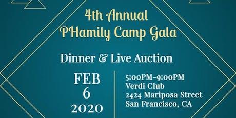 2020 PHamily Camp Gala tickets