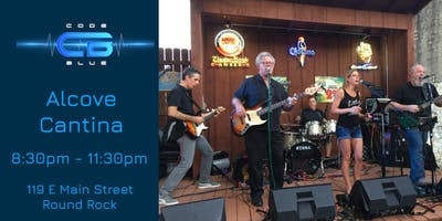 Code Blue Live at Alcove Cantina