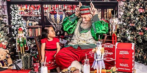 Fine Art Portrait Session with Santa Claus
