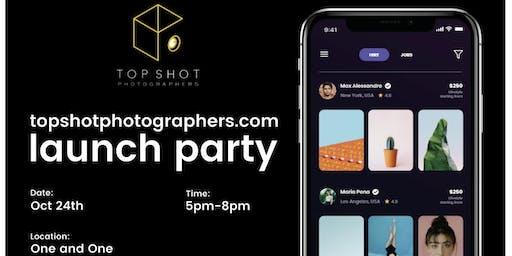 Top Shot Photographers App Launch Party