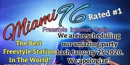 Miami96 Party Bash