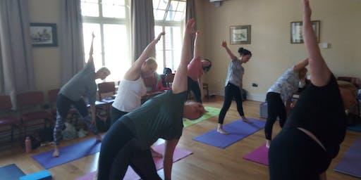 Yoga and Nordic Walking Event at Newbridge Memo