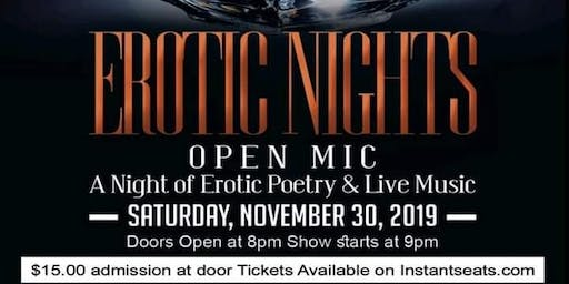 Erotic Nights Open Mic Night