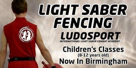 Light Saber Fencing Children's Discovery Class Birmingham tickets